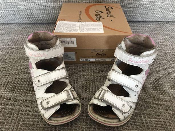 Продам детскую ортопедическую обувь со стельками
