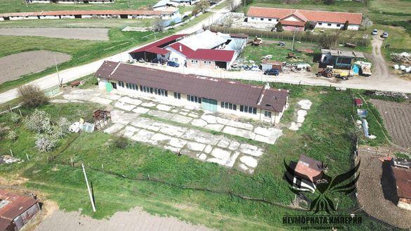 Промишлено помещение, склад, 400кв с парцел 2200кв.м. в село Конуш