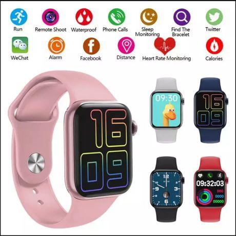 Смарт часовник HW12, Спортна фитнес гривна, Apple 6 Smart iWatch