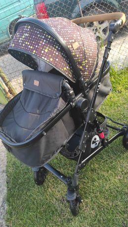 Lorelli Бебешка комбинирана количка ALBA 2 в 1 с трансформиращ се кош