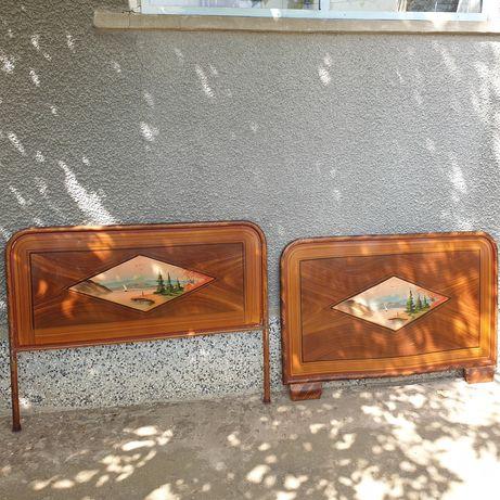 Старинни табли за метално легло