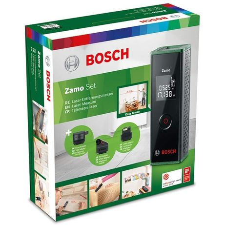 Set Telemetru cu laser + Accesorii Bosch Zamo III
