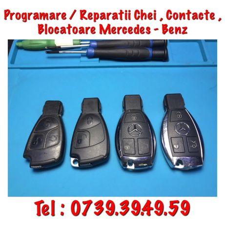 Programam Chei / Contacte / Blocatoare Mercedes-Benz