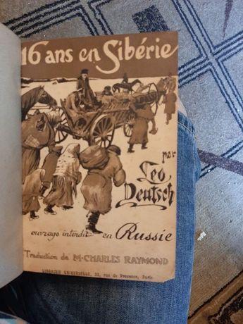 Carte veche - Seize ans en Siberie - Leo Deutsch