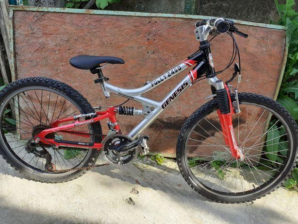 Bicicleta copii GENESIS roti de 24