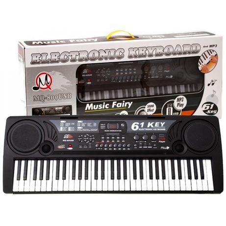 Orga electronica MQ-809, 61clape,MP3,USB,microfon,boxe