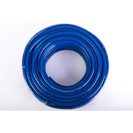 Furtun gaz albastru PVC, 8mm, 50 metri, Micul Fermier Nou