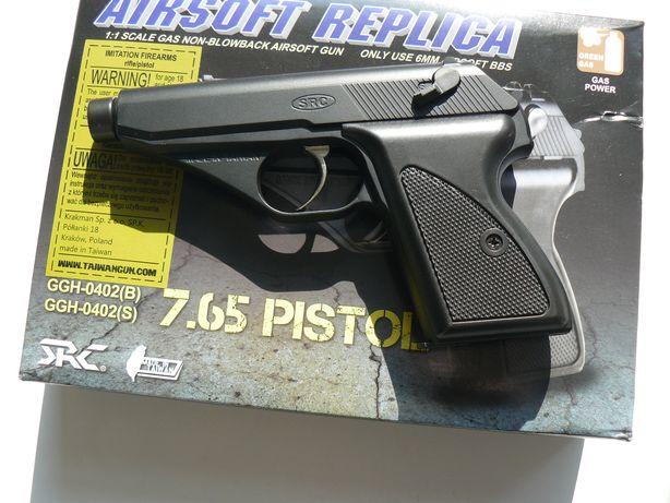 Pistol Airsoft SRC Mod 7.65 Tokarev,Nou,Pe Green Gas,NBB,Black,0,7J,