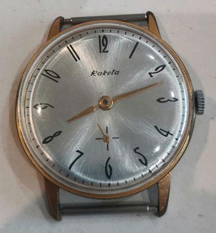 Raketa / Ракета Позлатен механичен часовник