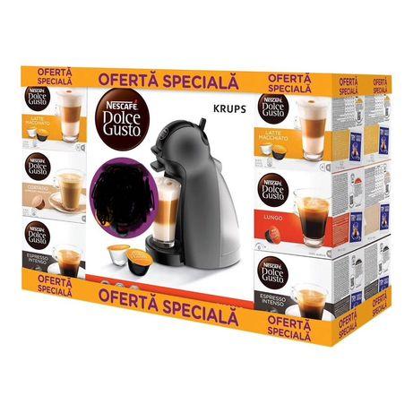 Espressor Nescafe DulceGusto Piccolo +12 cutii de capsule LIVRARE FREE