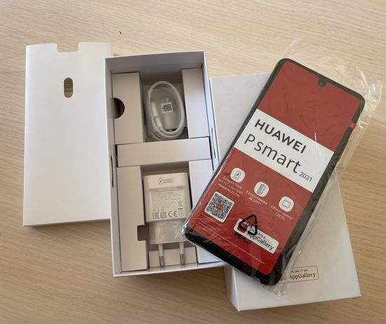 Новый Huawei P Smart 128gb Black 2021года