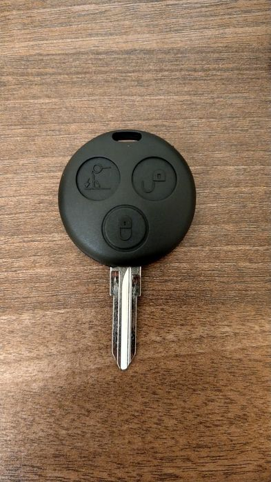 Carcasa cheie Smart cu 3 butoane