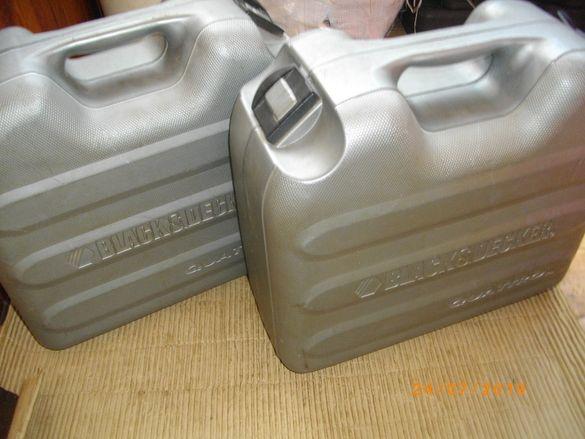 Куфар Black Decker Quatro-Английски-За Комплект 3в1 Quatro-Почти нов