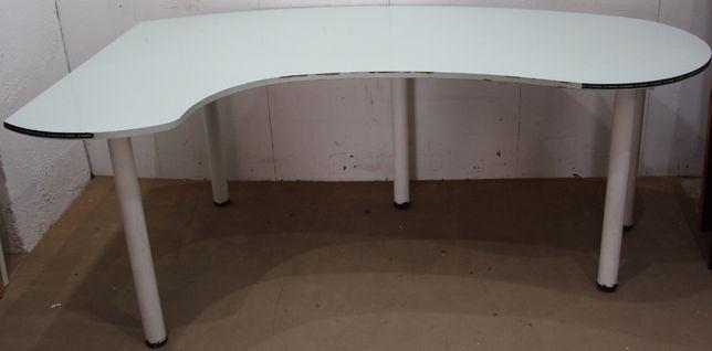 Birou de colt; Masa cu picioare metalice; Masa cu blat 190x119