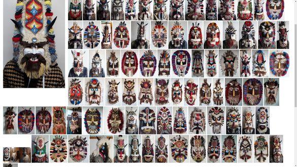 Уникални кукерски маски по поръчка