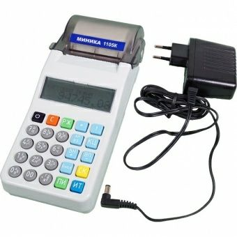 Продаю электронную контрольно-кассовую машину Миника