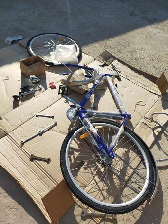 Новый велосипед Stells