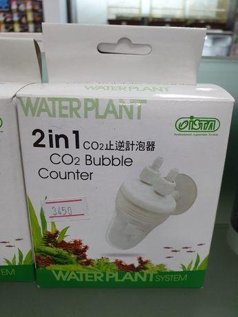 Счетчик пузырьков СО2 с обратным клапаном
