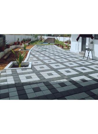 Pavele, pavaje beton curte, piatra decorativa pret bun model ANTIC 2