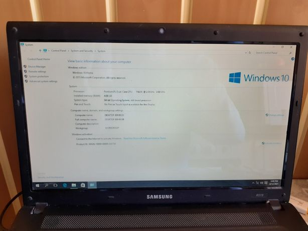 Laptop Samsung R 519