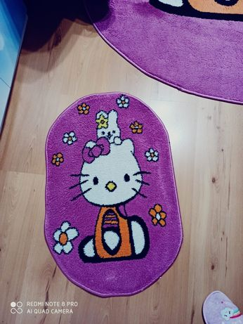 Covor cu carpetă  hello kitty