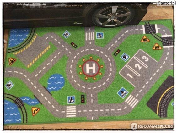 Игровой детский коврик ИКЕА