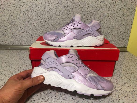 ОРИГИНАЛНИ *** Nike Air Huarache Run SE Violet Mist White