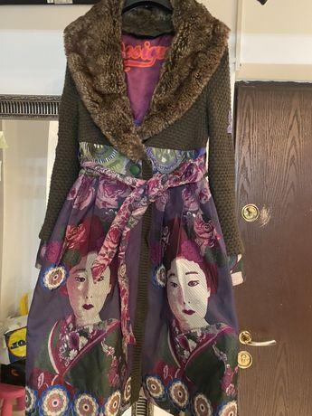 Palton geaca desigual armani guess
