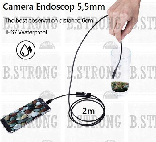 Nou Camera vizitare 5,5mm in circumferinta IP67 lungime cablu 2m flexi