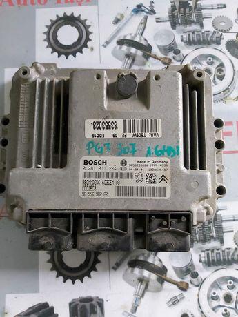 Calculator motor ecu Peugeot 307 motor 1.6 hdi 109 cp