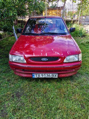 Форд Ескорт 1.3 газ/бензин