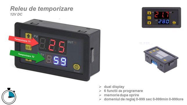 Releu temporizare timer ciclic centrala peleti 220V