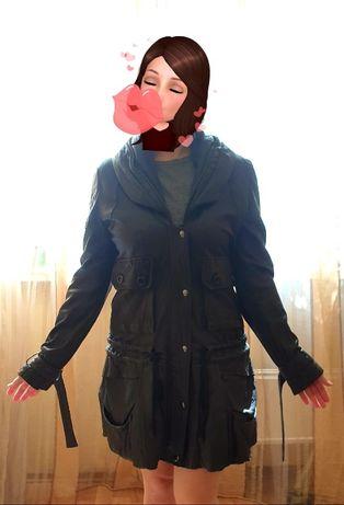 Кожаная куртка очень приятная кожа