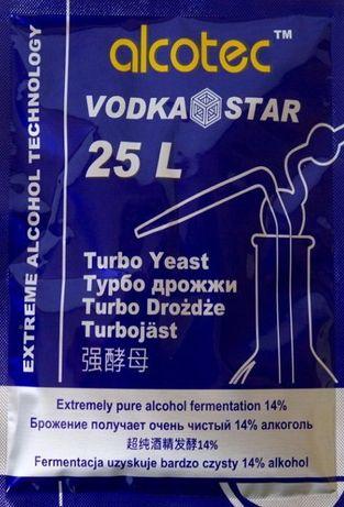 Drojdie Alcotec VodkaStar Turbo - drojdie pentru alcool