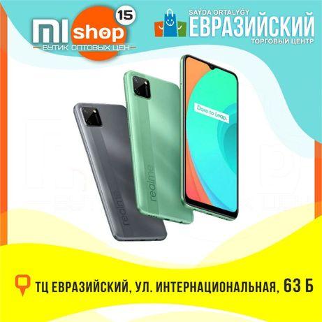 MiSHOP15 Смартфон Realme C11 (ТЦ Евразийский, 1 этаж, ул. Букетова 52)
