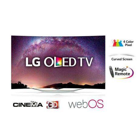 """Ультратонкий безрамочный LG Curved 55"""" OLED"""