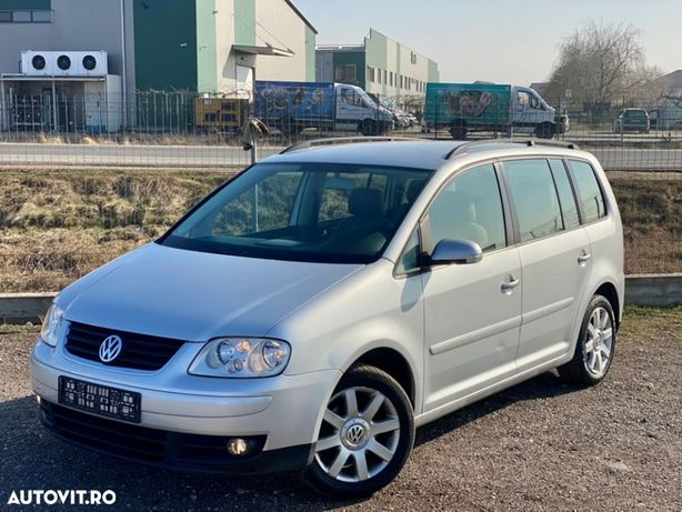 Volkswagen Touran Vw Touran 7 Locuri 2.0 Tdi Euro 4 Recent Adus