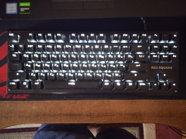 Клавиатура red square ice tkl