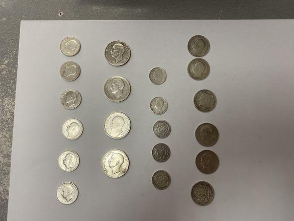 Сребърни монети 1 лев,20 лева, 50 лева , 50 ст