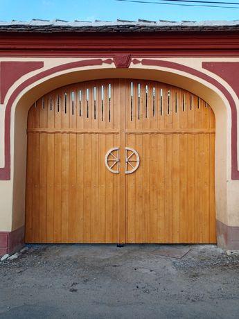 Confecţionări porti metalice/ / lemn pe cadru de fier/garduri etc.