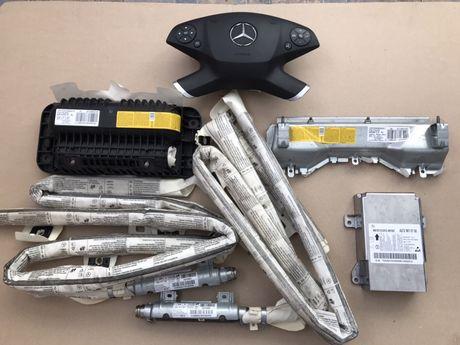 Airbag volan, pasager, cortina, genunchi mercedes e w212