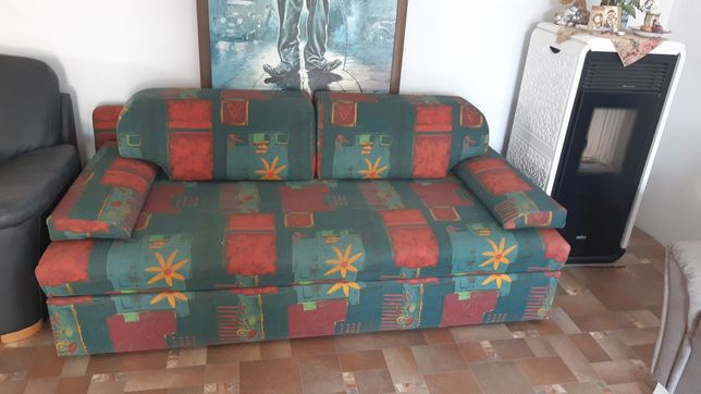 Divan canapea din doua parti