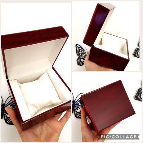 Луксозни кутии за часовник от кожа и дърво, 5 модела, всички налични