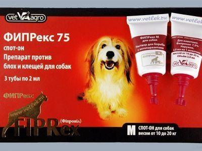 10% отстъпка от доставката! FIPREX-за външно обезпаразитяване на куче