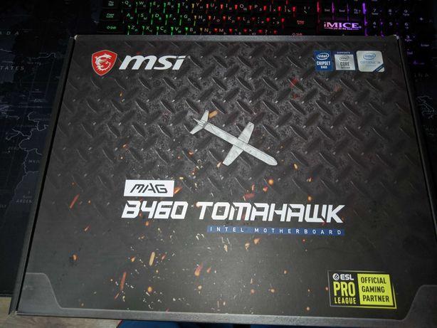 Продам/Обмен, Материнская  плата MSI MAG B460 Tomahawk,  LGA 1200