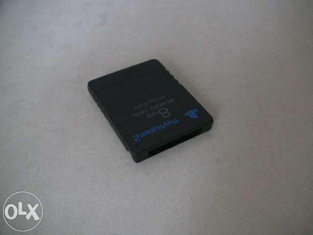 Card memorie 8 Mb modare soft Sony Playstation 2 PS2