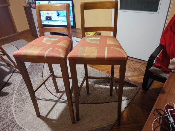 Бар столове дървени
