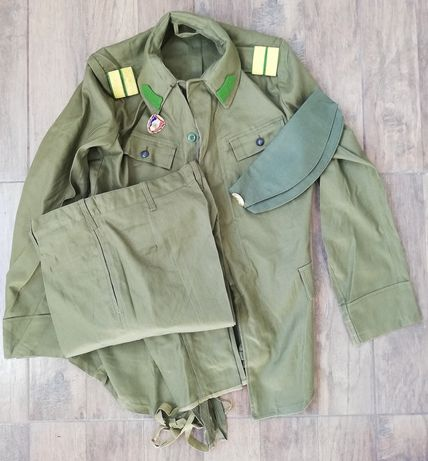 Uniforma militara vară kaki perioada comunista Tinute militare RSR