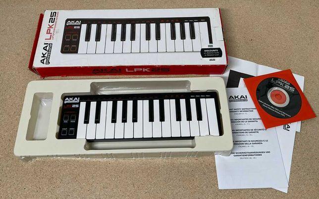 MIDI клавиатура AKAI LPK 25. Новый