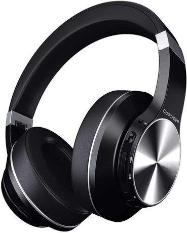 Слушалки с Bluetooth с микрофон Hi-Fi стерео, 30 часа време